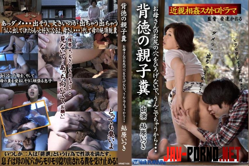 VRNET-035 Exclusive incest scat Ikihara Atsuki mother and son coprophagy sex (2018 | FullHD) 234.1847_VRNET-035