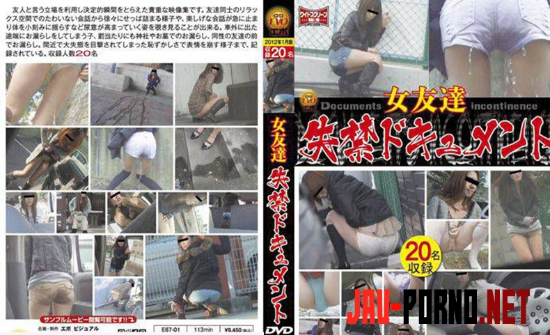 E67-01 女友達 失禁ドキュメント Friend Long Fed in the Toilet (2019 | SD) 3.1583_E67-01