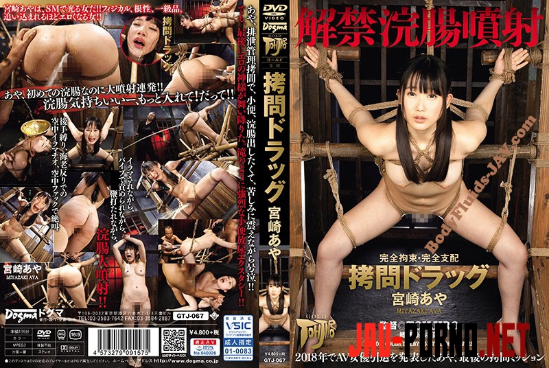 GTJ-067 完全拘束・完全支配 拷問ドラック Torture Big Klizmu - Full Control of Shit Ass (2019 | SD) 6.1700_GTJ-067