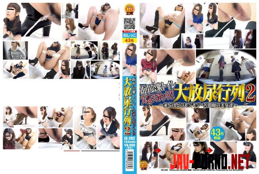 EE-202 Popular Public Toilet Lining up to Piss 人気の公衆トイレの裏地まで小便 (2020 | FullHD) 3.2919_EE-202